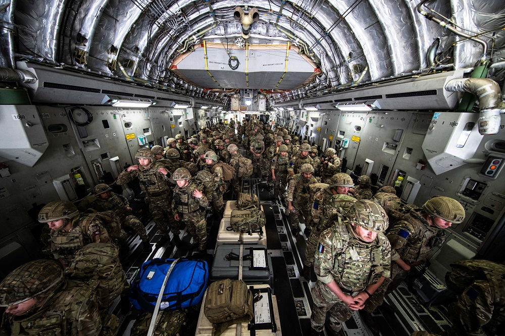 British Army's 16 Air Assault Brigade Oversees Safe Return from Afghanistan Evacuation Operation