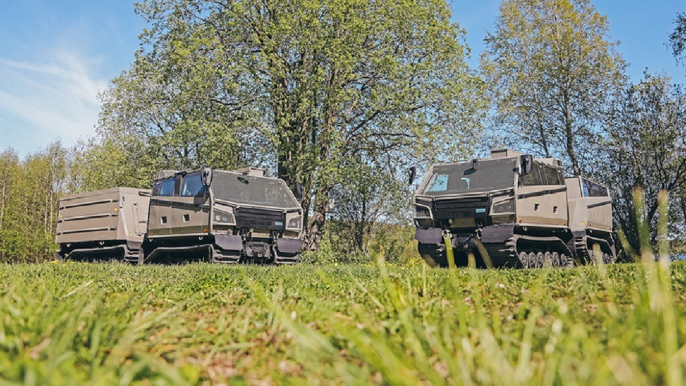 BAE Systems Hägglunds BVS10 Beowulf all terrain armoured vehicle