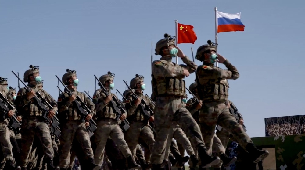 Chinese People's Liberation Army and Russian Ground Forces Kick Off Sibu/Interaction 2021 Exercise