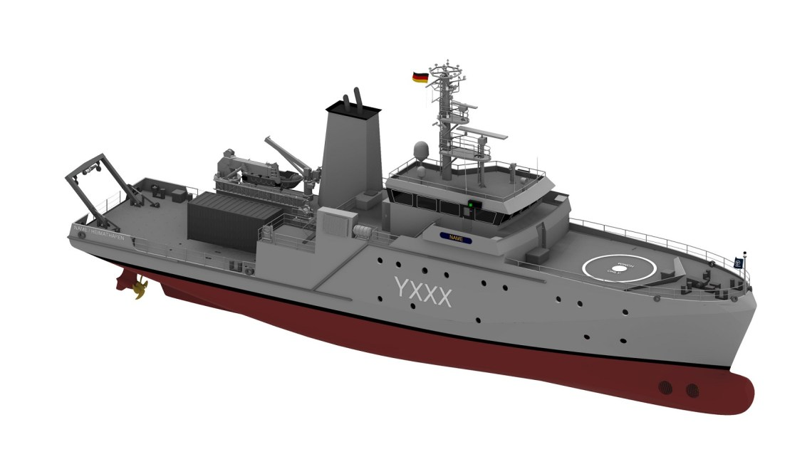 Fassmer Awarded Contract to Build Experimentation and Support Ships for German Navy
