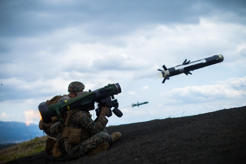 FGM-148 Javelin Anti-tank Missiles