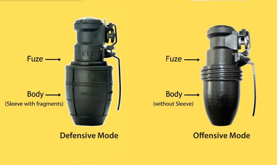 EEL's Multi-Mode Hand Grenades (MMHG)