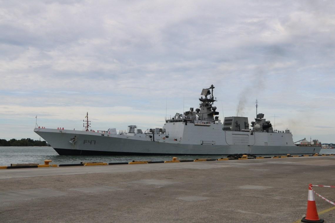 Indian Navy Frigate INS Shivalik (F47)