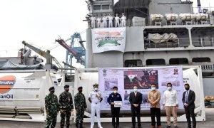 Indian Navy's Landing Ship Tank (Large) INS Airavat