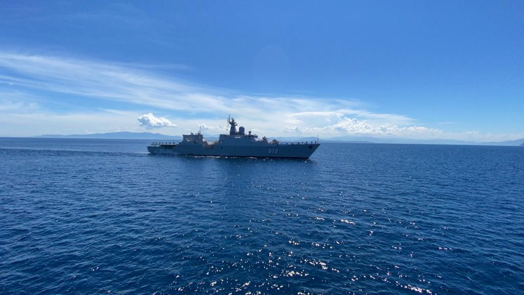 Indian Navy Ships Undertake Maritime Exercise with Vietnam People's Navy Frigate