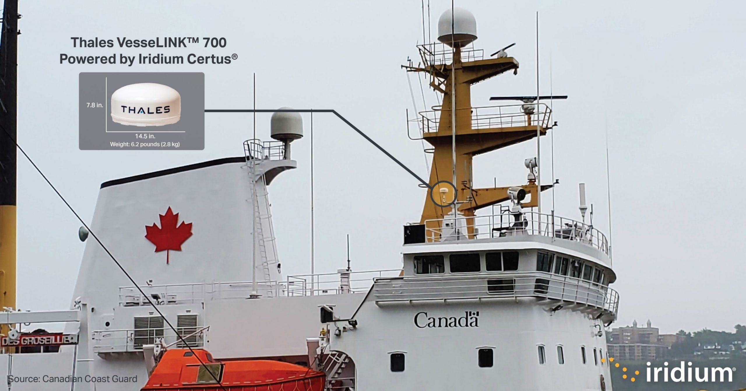 Iridium Communications Inc Announces Partnership with Canadian Coast Guard