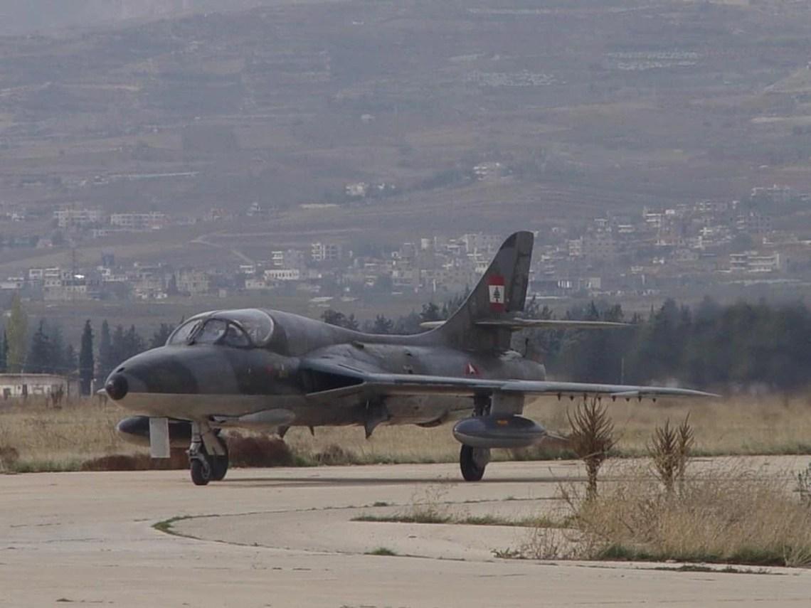Lebanese Air Force Hawker Hunter