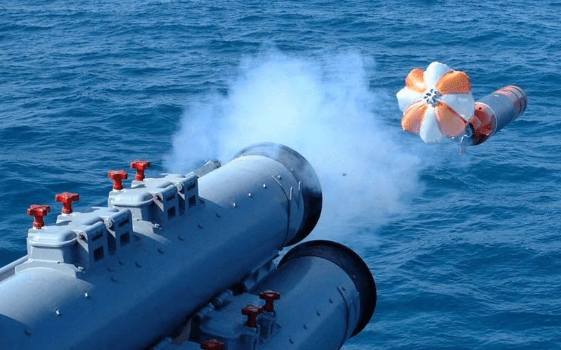 LIG Nex1 K745 Cheong Sangeo (Blue Shark) lightweight, anti-submarine torpedoes