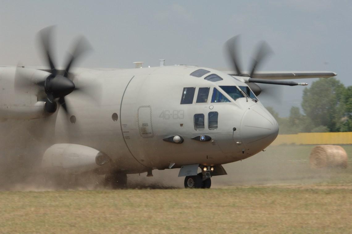 Italian Air Force MC-27J Praetorian Military Transport Aircraft