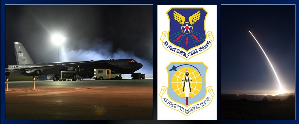 The Air Force Civil Engineer Center recently stood up a new division to support the U.S. Nuclear Triad. (U.S. Air Force graphic)