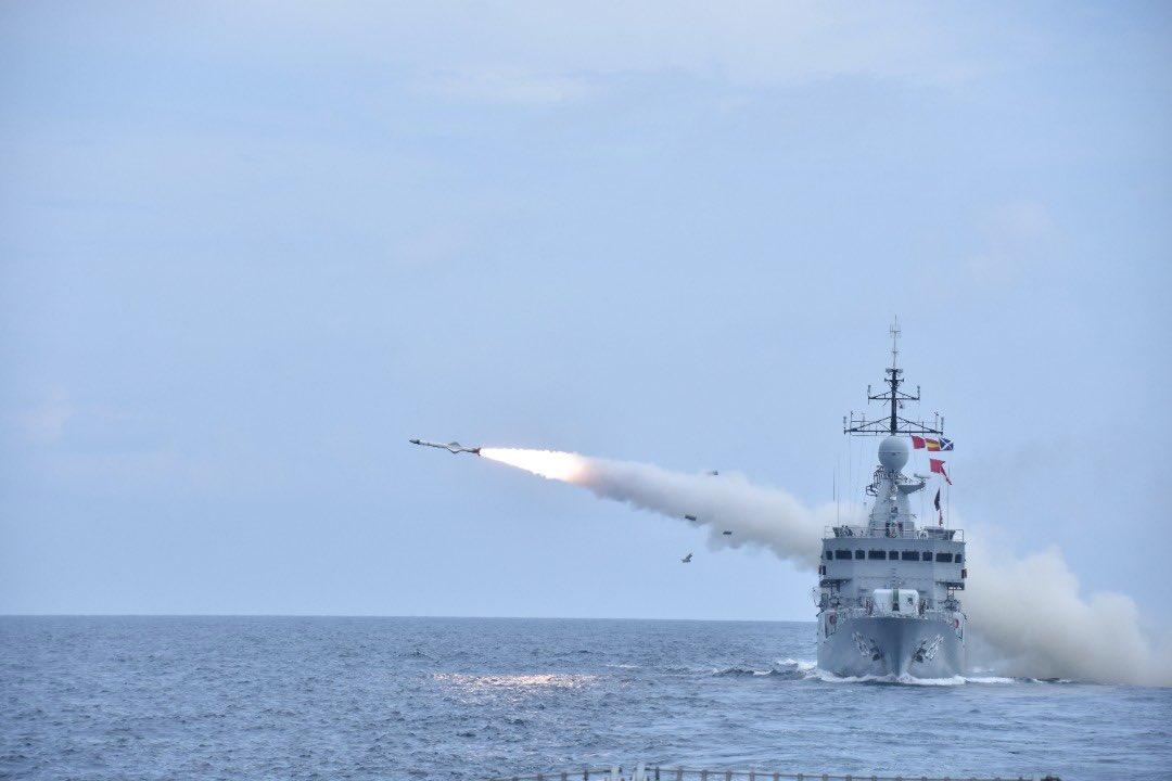 Royal Malaysian Navy Fires Exocet MM40 and SM39 Anti-ship Missiles During Taming Sari Exercise