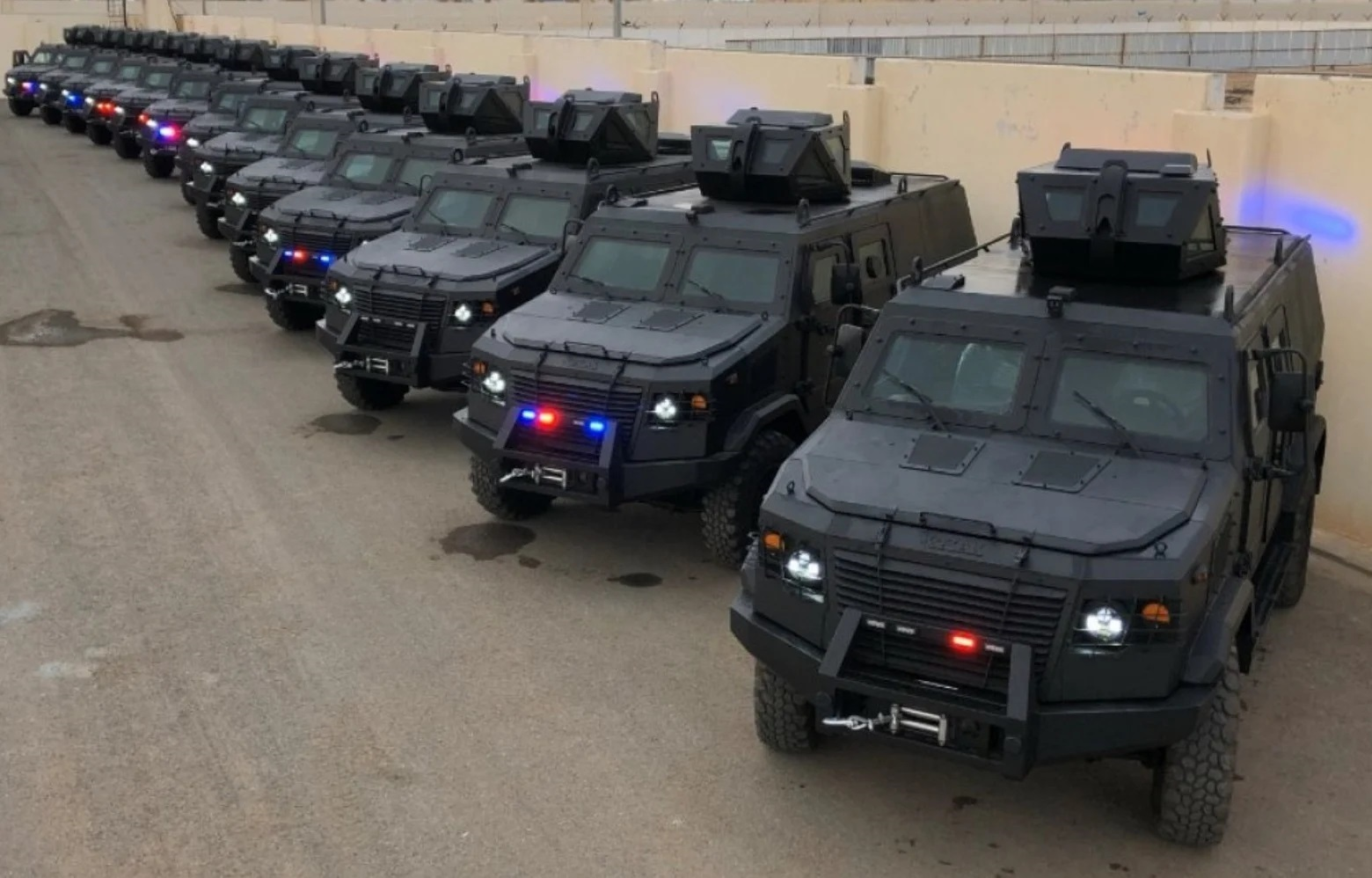 Saudi Arabian Special Forces Receives Ukraine's Kozak-5 Armored Vehicles