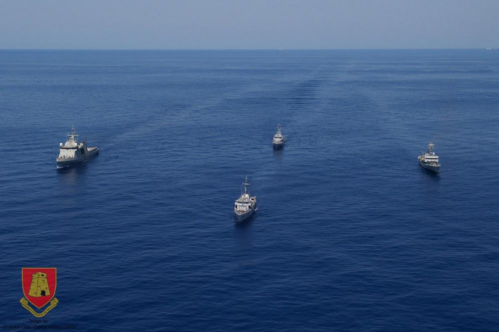 Standing NATO Mine Countermeasures Group Two (SNMCMG-2) Visited La Valletta, Malta