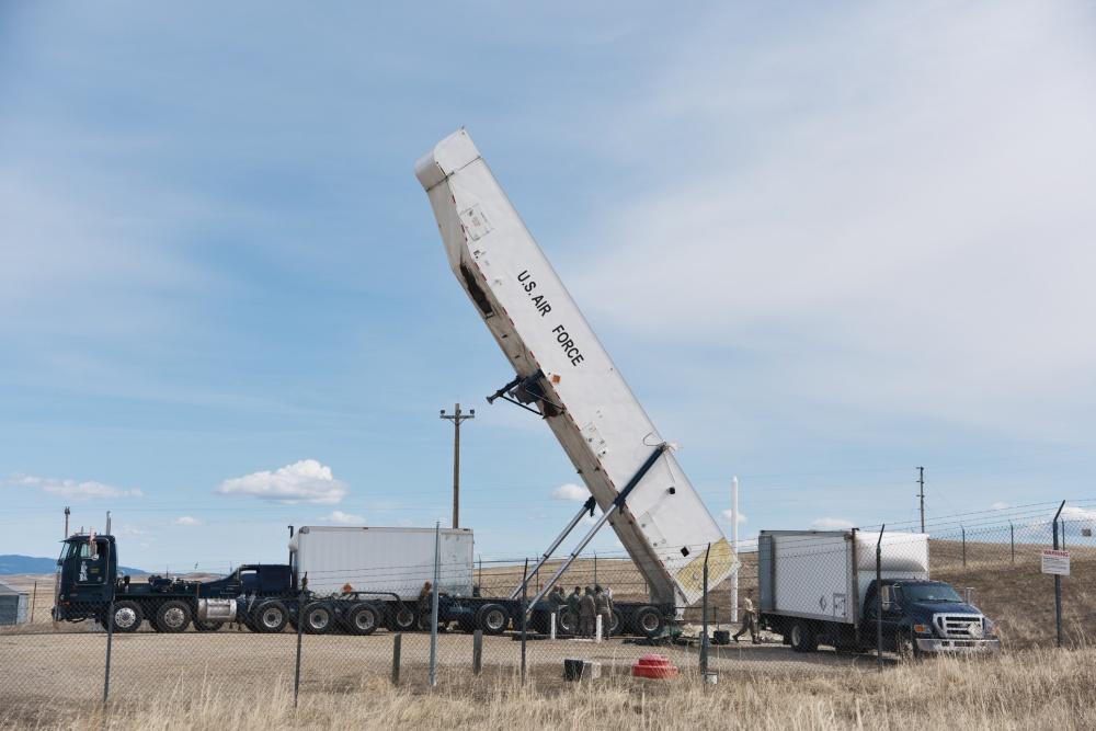 US Air Force Transporter Erector