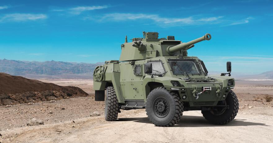 Turkey's Defense Manufacturer Otokar Unveils AKREP IId Armored Reconnaissance Vehicles