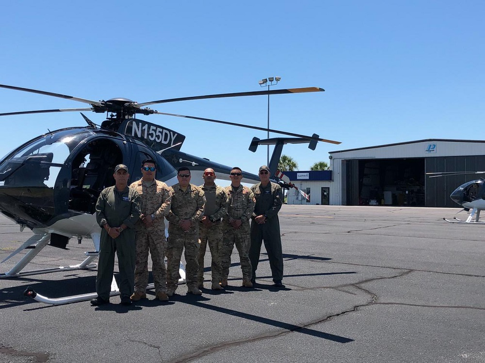 US Government Donated 12 MD530F Light Attack Helicopters to Salvadoran Air Force