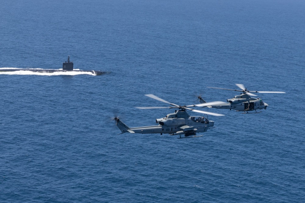 US Marine Corps Aircraft Trains for Modern Island Hopping Campaign During Exercise Summer Fury 21