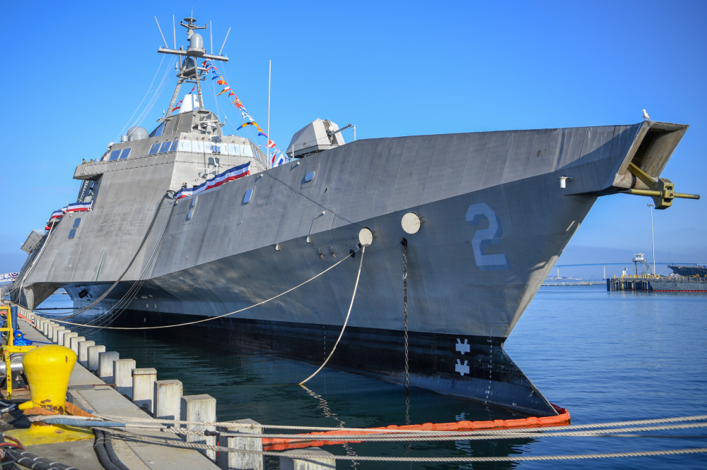 US Navy Decommissions Littoral Combat Ship USS Independence (LCS 2)