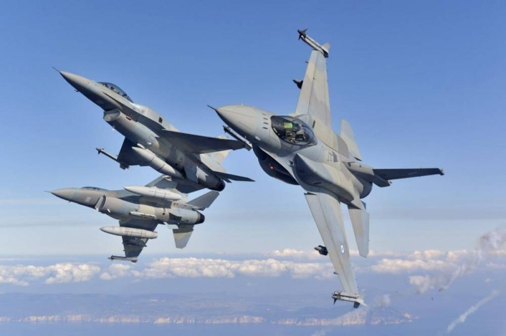 Hellenic Air Force's F-16C/D Block 52+adv Fighting Falcon