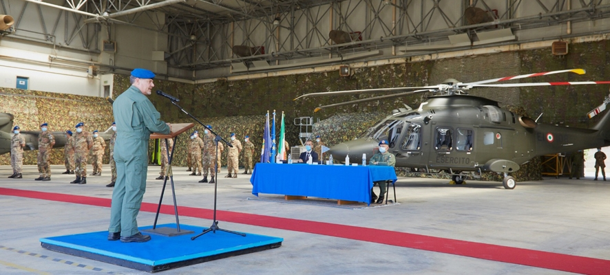 Italian Army AW169M LUH (Light Utility Helicopter) Programme