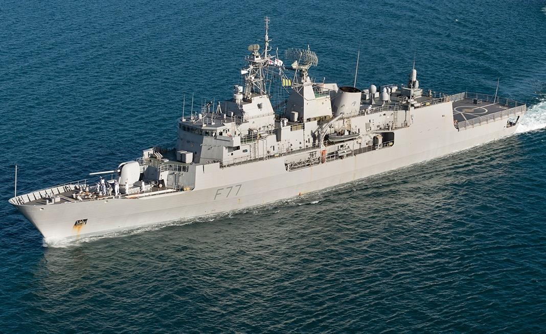 Royal New Zealand Navy Anzac Class frigate HMNZS Te-Kaha