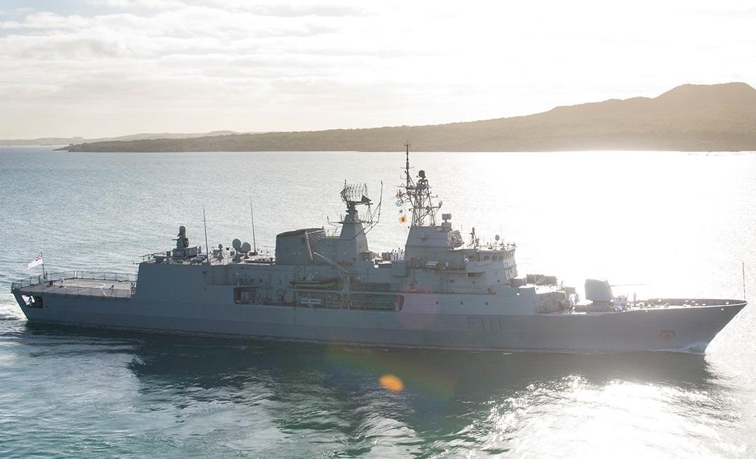Royal New Zealand Navy Anzac Class frigate HMNZS Te Mana