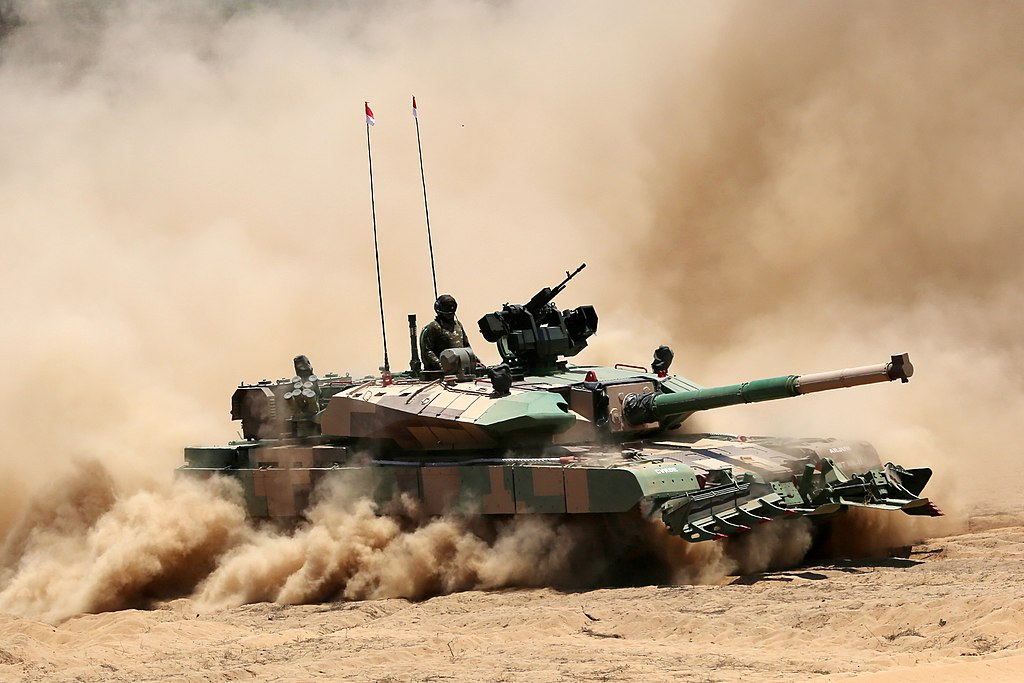 Arjun Mk-1A Main Battle Tanks