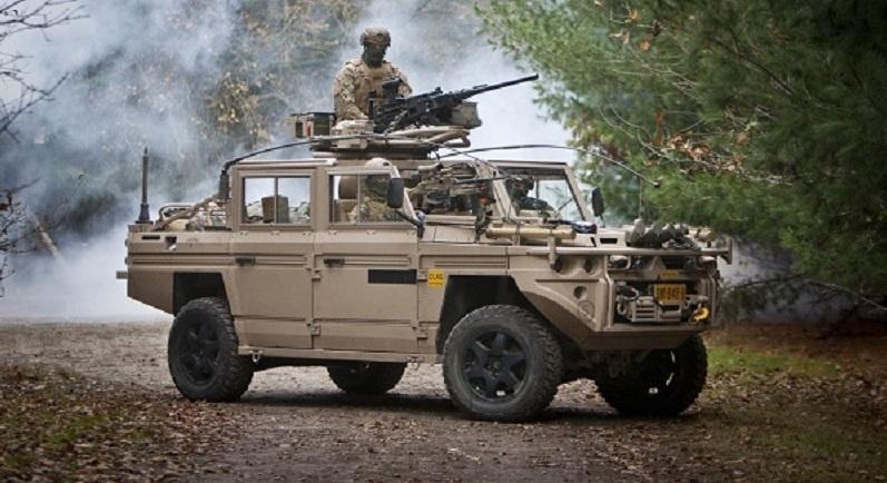 Defenture VECTOR light all-terrain tactical vehicle,