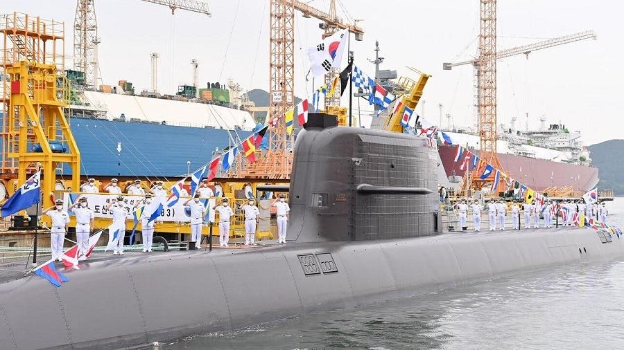 Republic of Korea Navy ROKS Dosan Ahn Changho
