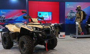 Eco Charger Partnership with Supacat Launches Vizsla Military All Electric Quad