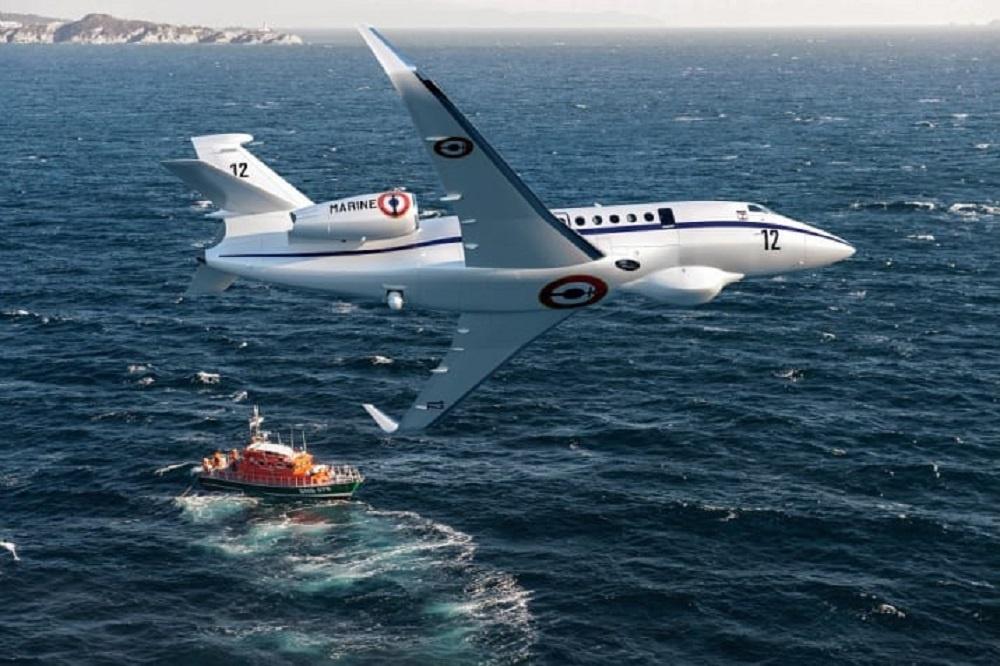 French Navy Falcon 2000 Albatros