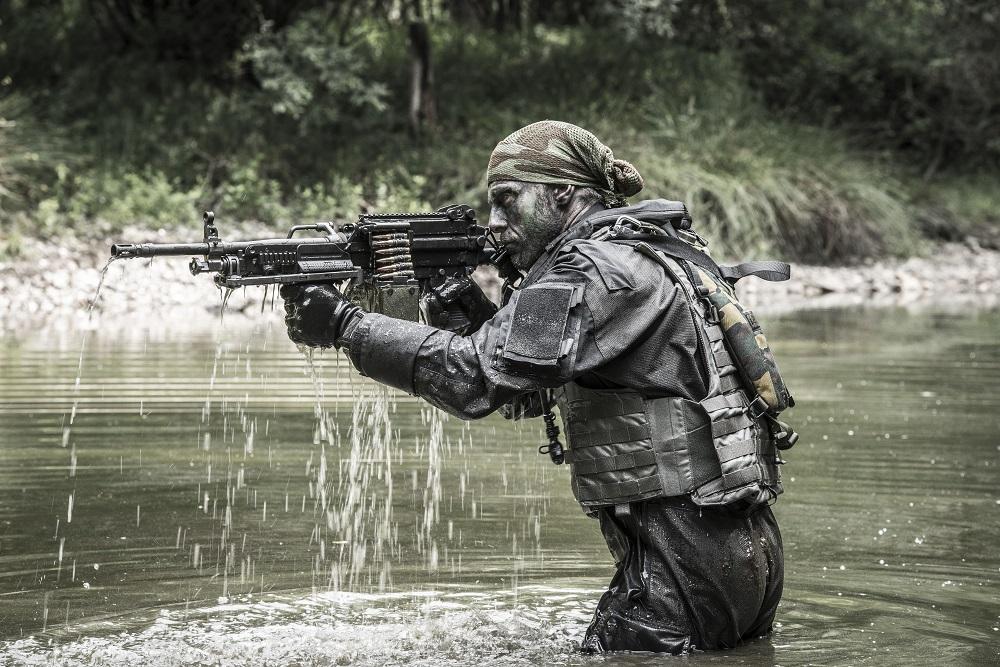 FN MINIMI Mk3 (3rd generation) light machine gun