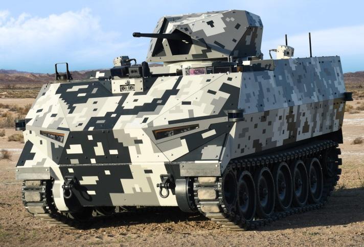 FNSS SHADOW RIDER Modular Autonomous Unmanned Ground Vehicle