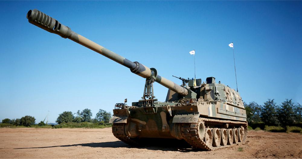 Hanwha Defense K9 Thunder Self-Propelled Howitzer