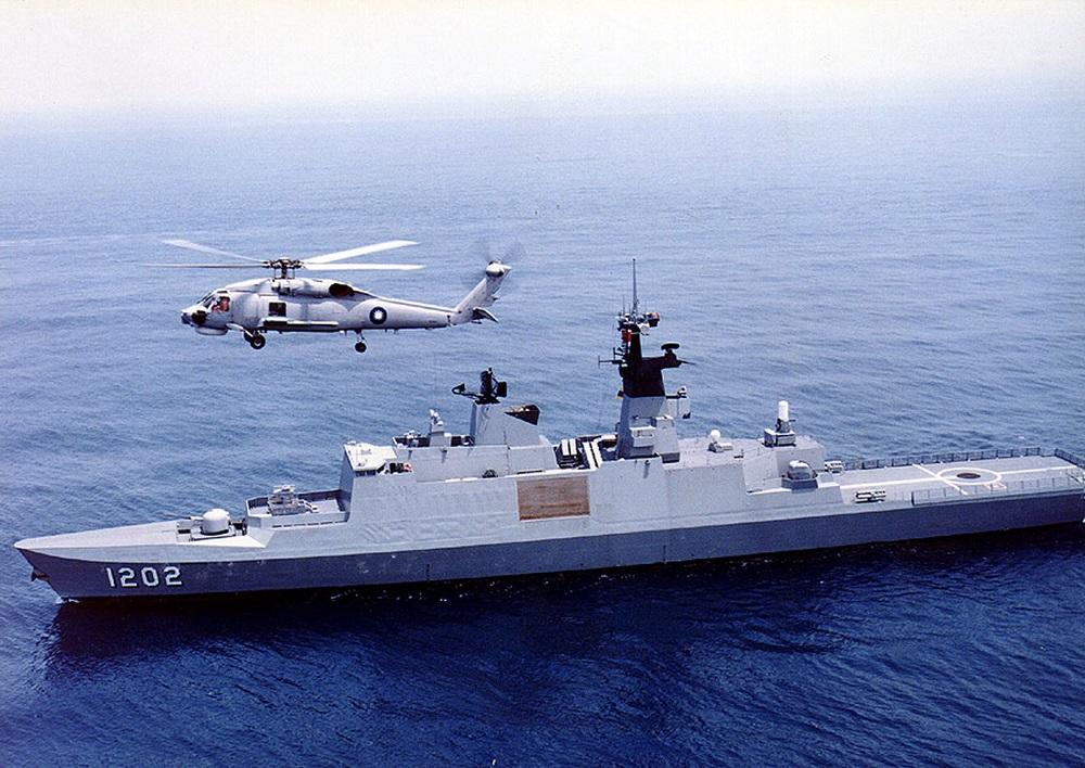 Taiwan Navy ROCS Kang Ding (PFG-1202)