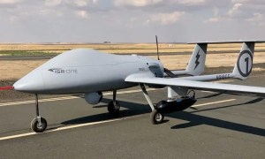 BlackKite Wide-Area Sensor on ISR-ONE Unmanned Aircraft System