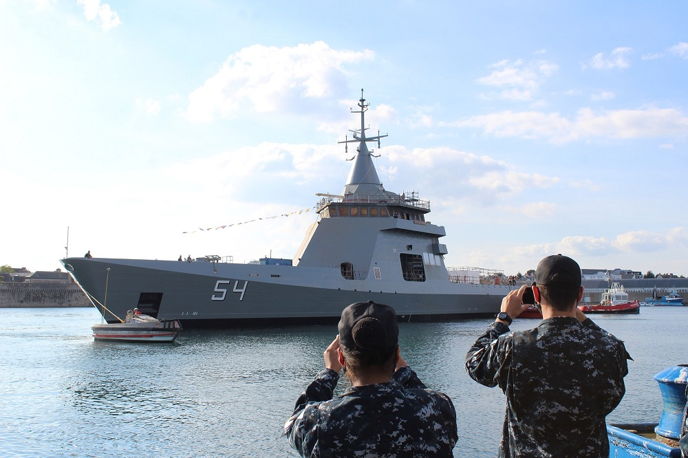 Naval Group Launches Fourth Offshore Patrol Vessel for Argentine Navy