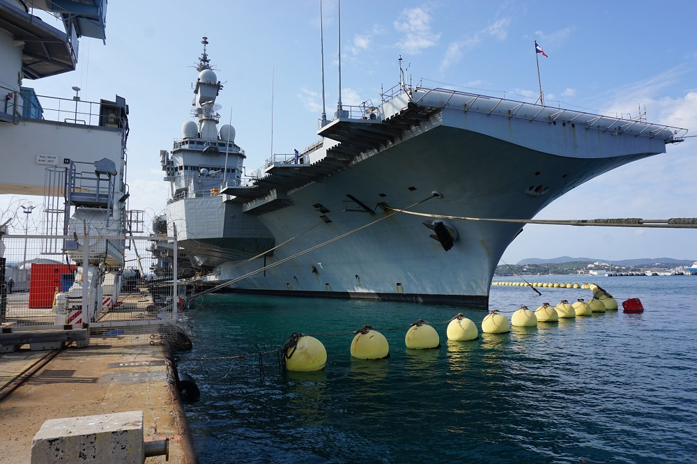 Naval Group Starts French Navy Charles de Gaulle Aircraft Carrier Modernization