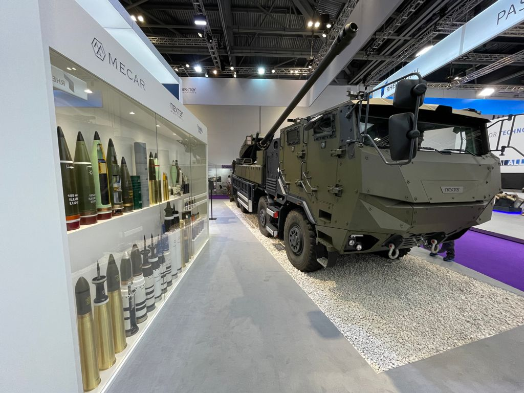 Nexter Pitches CAESAR 8x8 Self-propelled Howitzer for British Army Mobile Fires Program