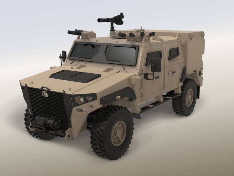 NIMR's AJBAN MK2 Protected Light Tactical Patrol Vehicle