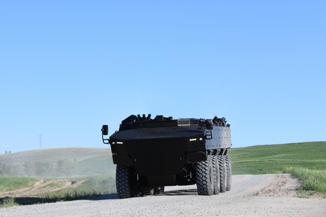 Pars IV 8x8 من الجيل الجديد من المركبات المدرعة ذات العجلات (NG-WAV)
