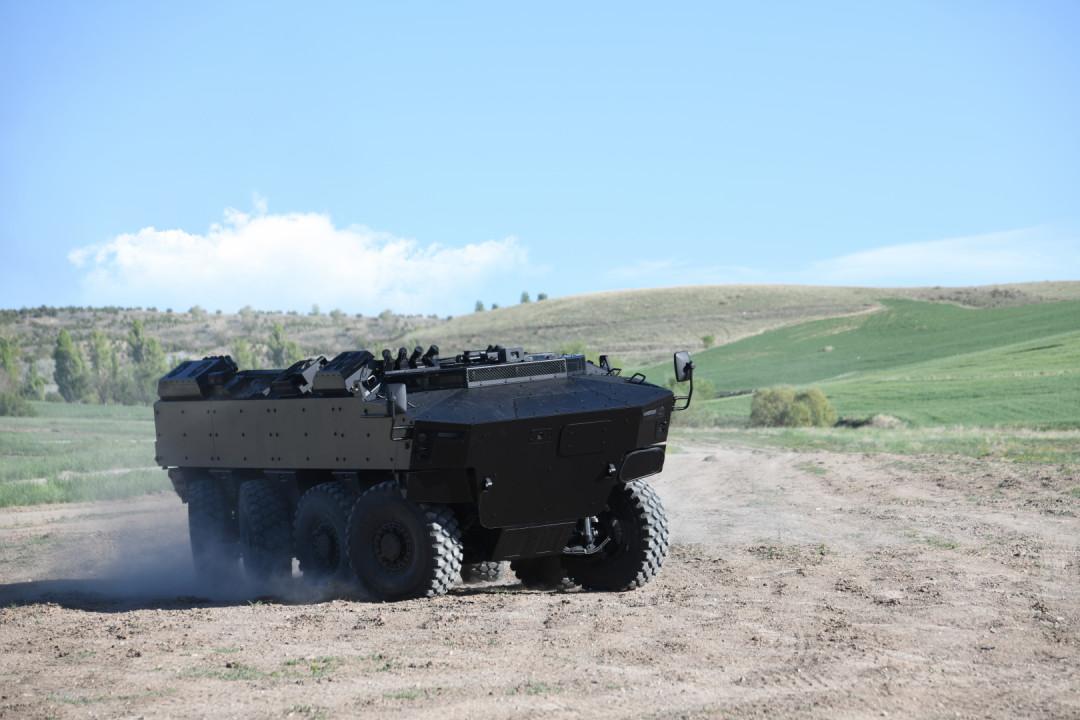 Pars IV 8x8 New Generation Wheeled Armoured Vehicle (NG-WAV)