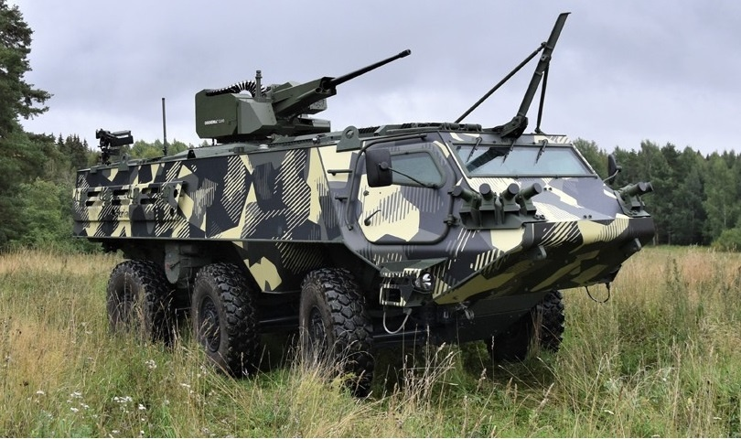 Patria 6x6 Heavy Armoured Personnel Carrier with Cockerill CLWS
