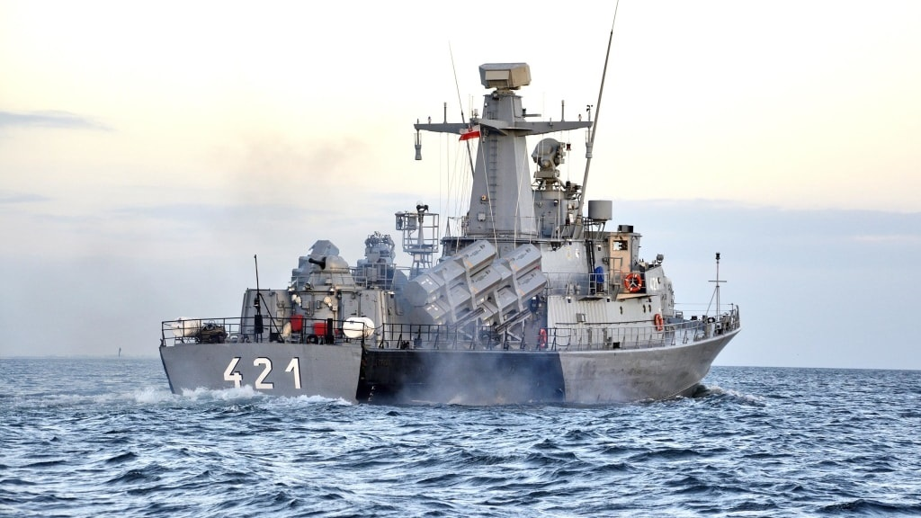 Polish Navy Fast Missile Boat ORP Orkan