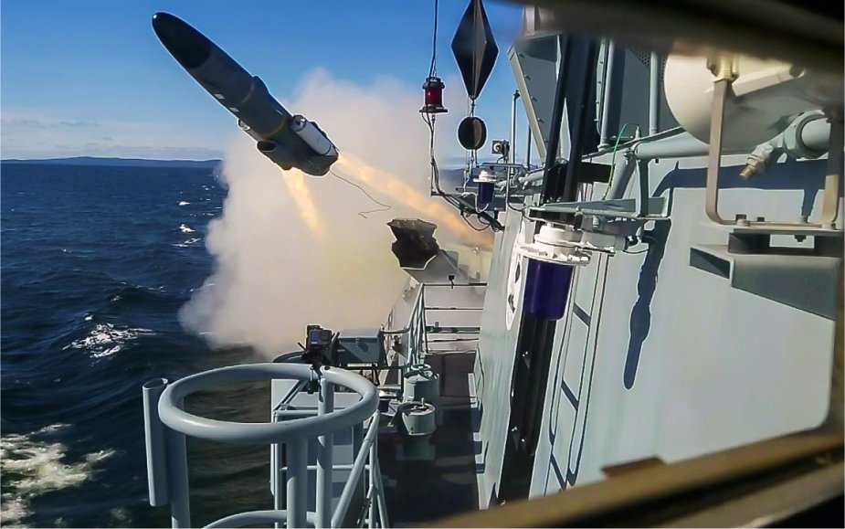 Polish Navy Fast Missile Boat ORP Orkan Successfully Fires RBS-15 Mk3 Anti-ship Cruise Missile