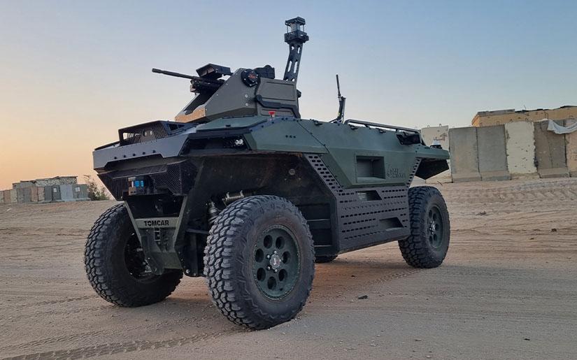 Israel Aerospace Industries Rex MK II Multi-Mission Unmanned Land Vehicle