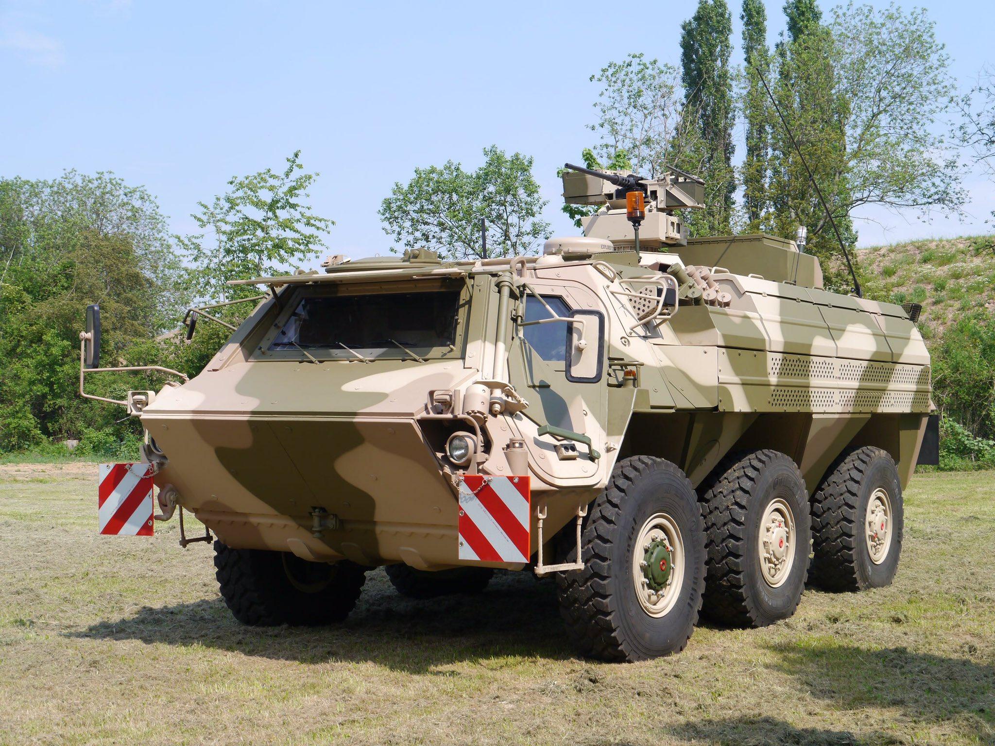 Rheinmetall Awarded to Modernize German Army Fuchs Armored NBC Reconnaissance Vehicle