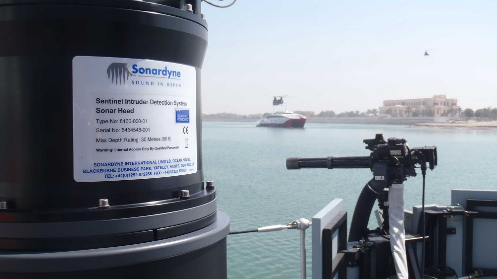 Sonardyne to Deploy Sentinel Intruder Detection Sonar (IDS) in the Middle East