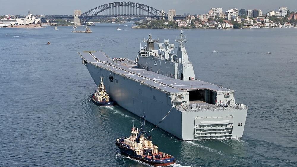 Svitzer Australia Awarded Towage Services Contract for Royal Australian Navy