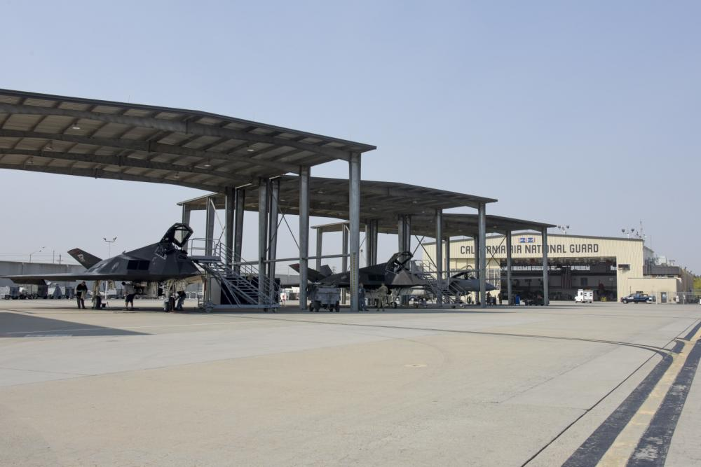 US Air Force 144th Fighter Wing Welcomes Lockheed F-117 Nighthawks for Training